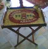Karachi Lahore mosaic Table Tray