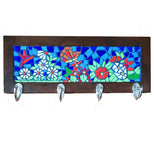 Butterflies in Spring Mosaic Coat rack