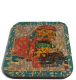 Happy Truck Coaster (set of 6)