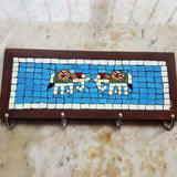 Elephant Mosaic Coat rack