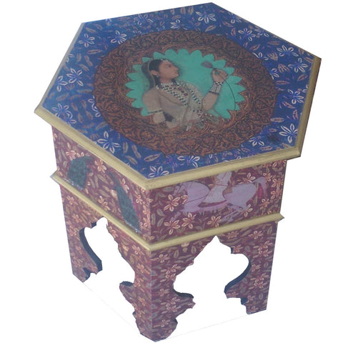 Midnight Blue Mughal Nest tables