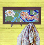 Goldfish Mosaic Coat Rack