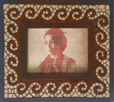 Classic Wave Mosaic Frame