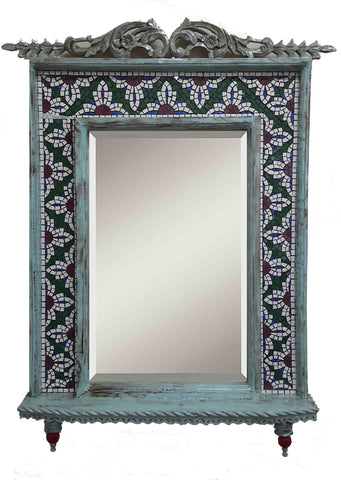 Bloom Mosaic Mirror