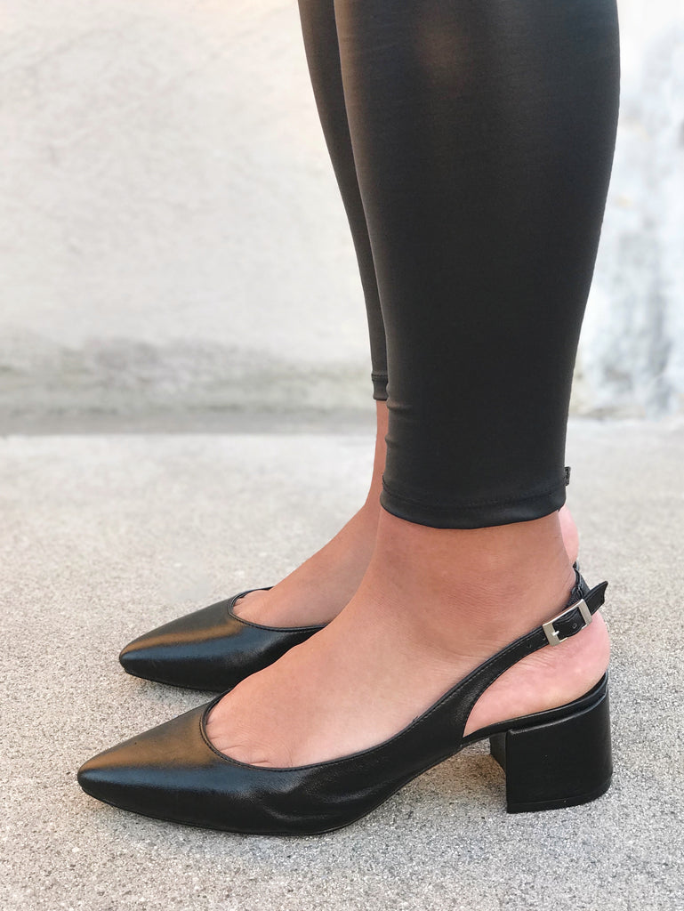 City Black Heel - Final Sale