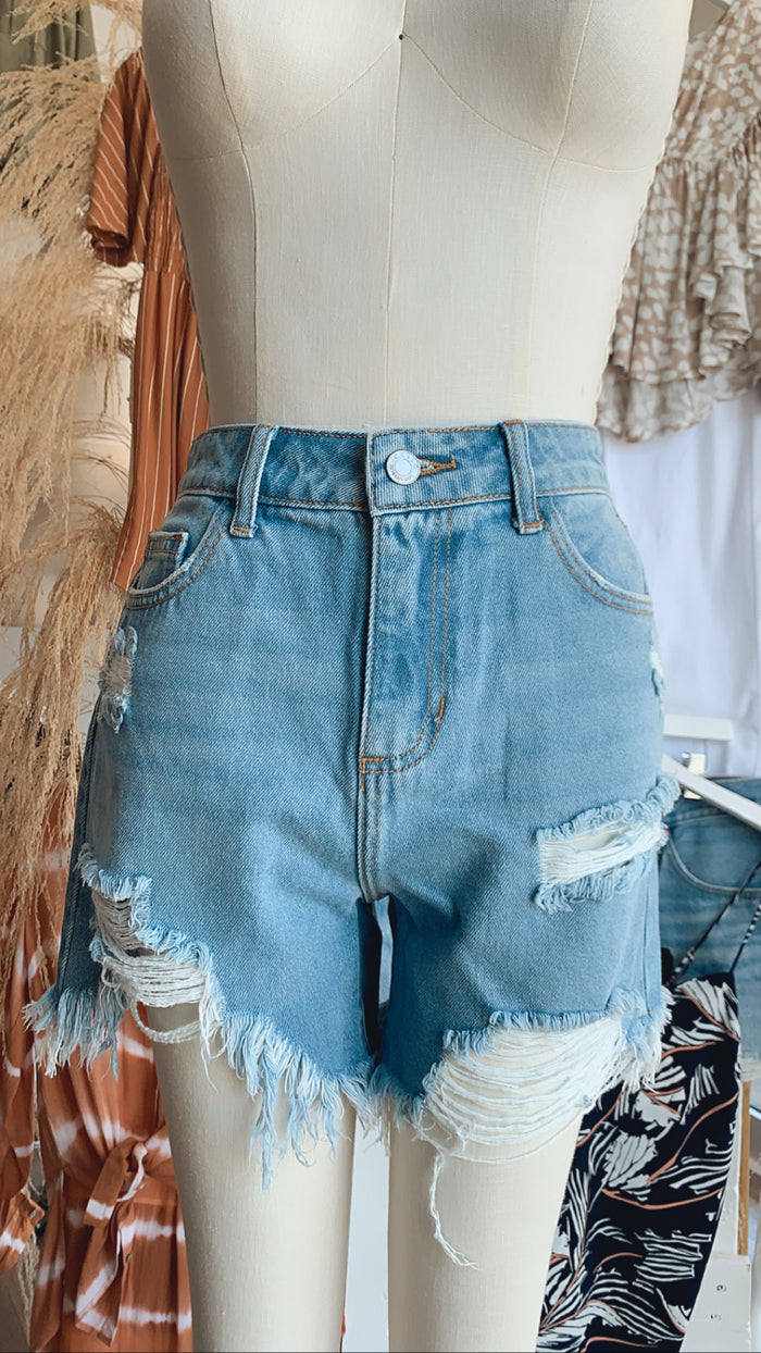 Genesis Denim Shorts