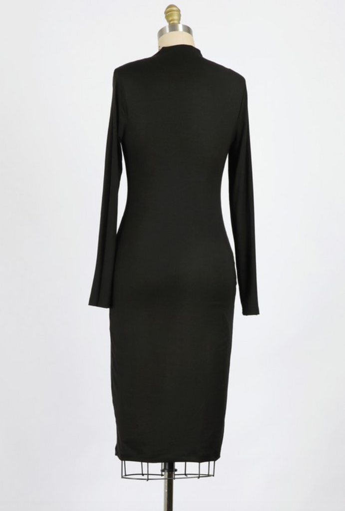 Kennedy Bodycon Dress - Black