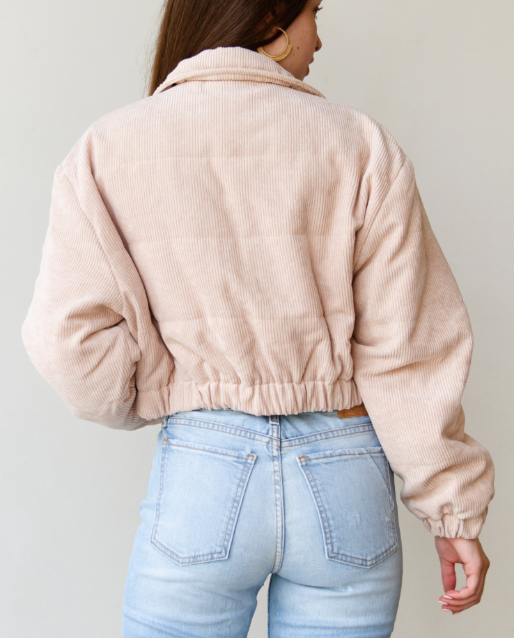 bone corduroy jacket