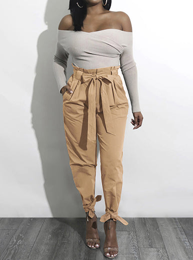 Knot Me Up Highwaisted Pants