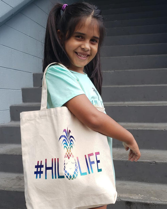 Enjoying Everyday #Hilolife Medium Tote