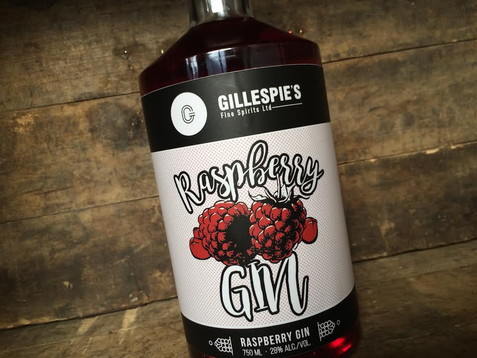 Our Raspberry Gin featured in BC Living