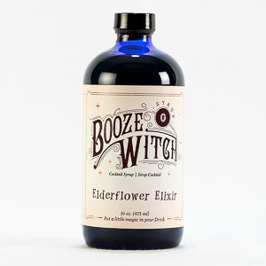Elderflower Elixir 16 oz