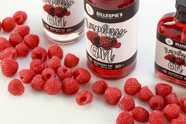 Raspberry Gin Flask - 200ml
