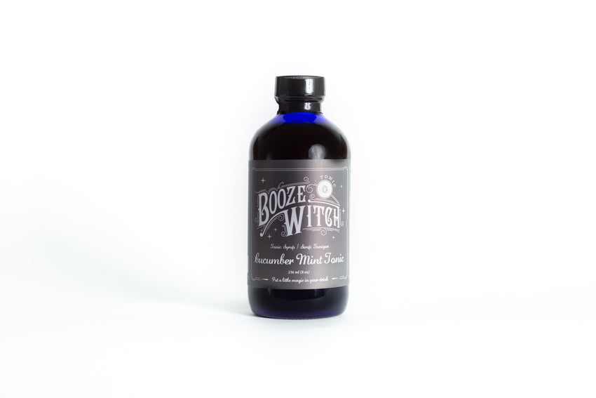 Boozewitch Cucumber Mint Tonic 8oz