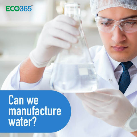 Can we manufacture water?