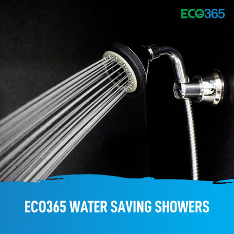 Eco365 Water Saving Showers