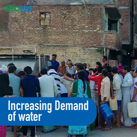 Increasing Demand of water