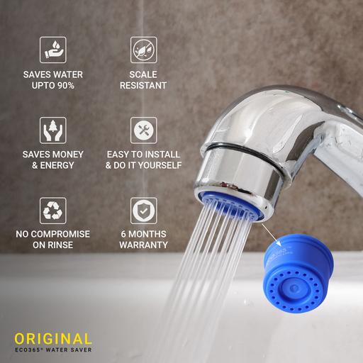 Water Saving Shower Flow Aerator- 1.75LPM - ECO365