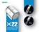 X22 Dual Flow Chrome Finish JET and ECO Flow Aerator - Eco365