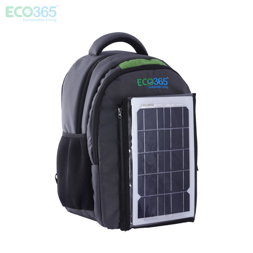 Solar Laptop Bag With Mobile Power Bank - Eco365