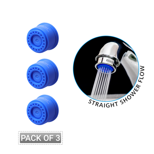 Shower Flow Tap Aerator 3 LPM - (Pack of 3) - Eco365