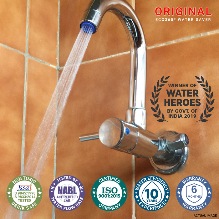 Shower Flow Aerator - 3LPM - ECO365