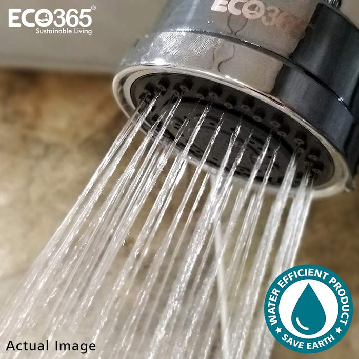 Eco365 3 function economiser shower head - No Water Wastage - Economical - ECO365