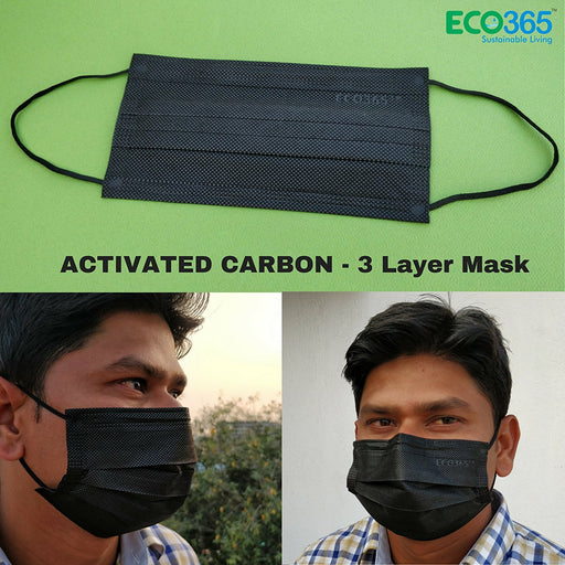 3 Layer Activated Carbon Disposable Mask Pack of 200