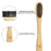 Bamboo Charcoal Toothbrush - Ecofriendly Gift- Handmade - Natural Dental Care Pack of 12