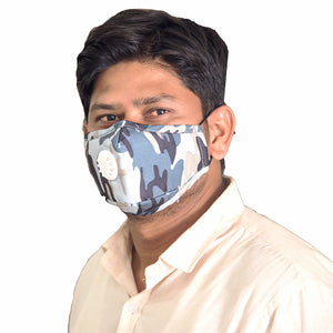 Eco365 Anti Pollution Mask PM2.5 (Army Design)