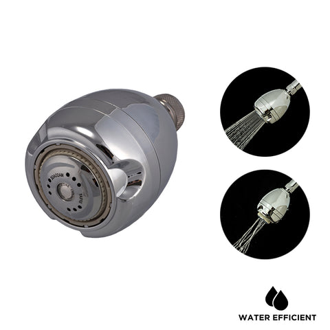 Dual Function Water Saving Shower Head