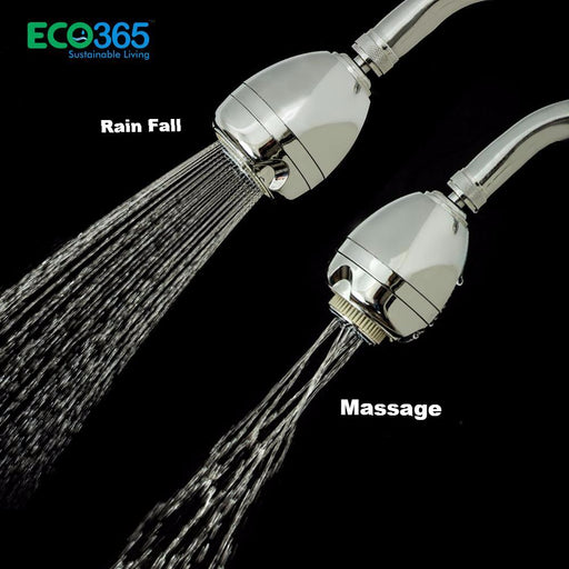 Dual functions shower head