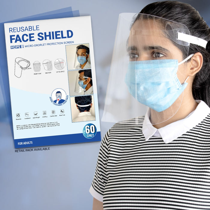 MDPS- Face Shield- Comfort(Pack of 25) - Eco365