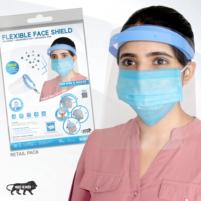 MDPS Flexible Face Shield (Pack of 10) - ECO365
