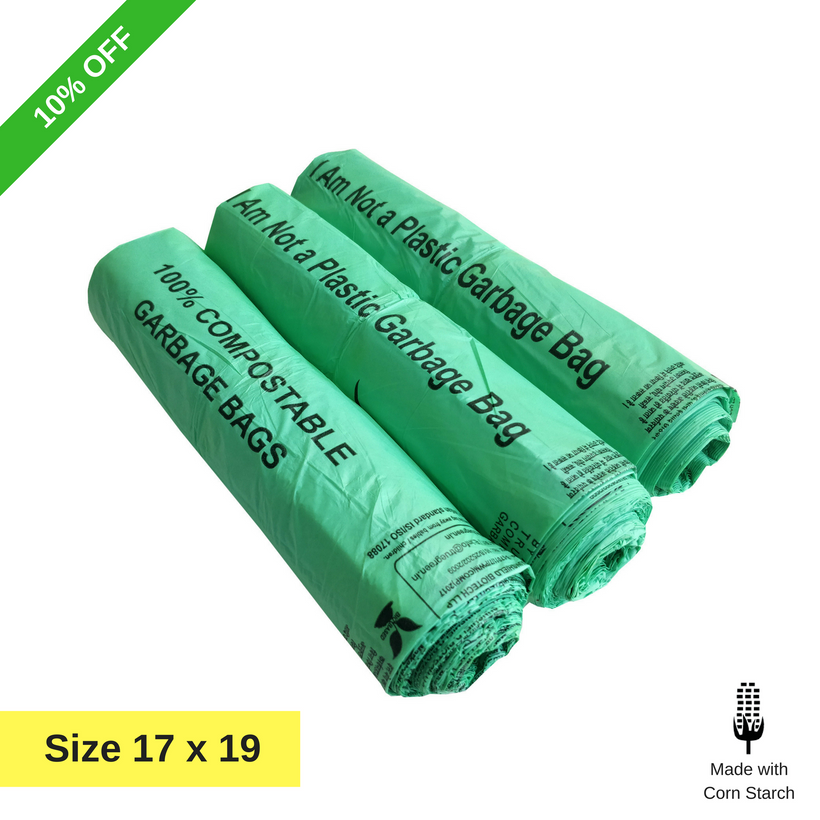 Buy Compostable Garbage Bags in Bulk