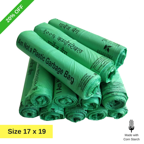 Eco365 compostable garbage bags