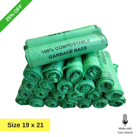 Bio Degradable compostable garbage bags