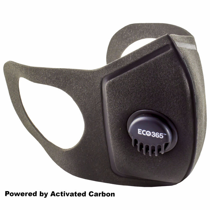UltraLite Activated Carbon Mask - Reusable And Washable (Pack of 3) - Eco365