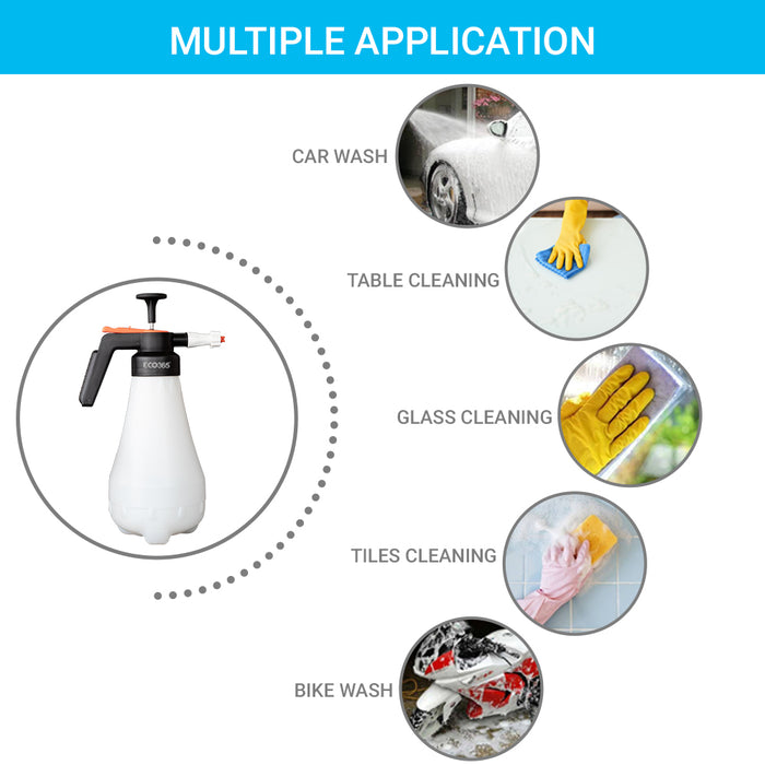 ECO365 Foam Sprayer 2Litre(2 in 1, suitable for gardening, soap and water wash)