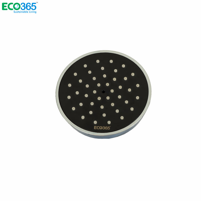 AirOxy - Water saving shower head (Black) Pack of 2 - Eco365