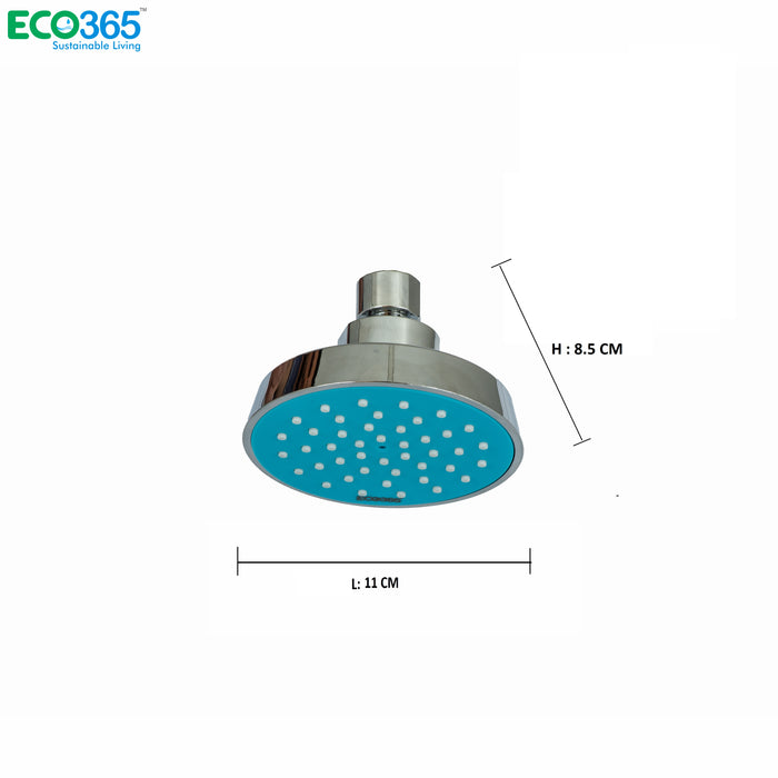 AirOxy - Water saving shower head (Blue) Pack of 2 - Eco365