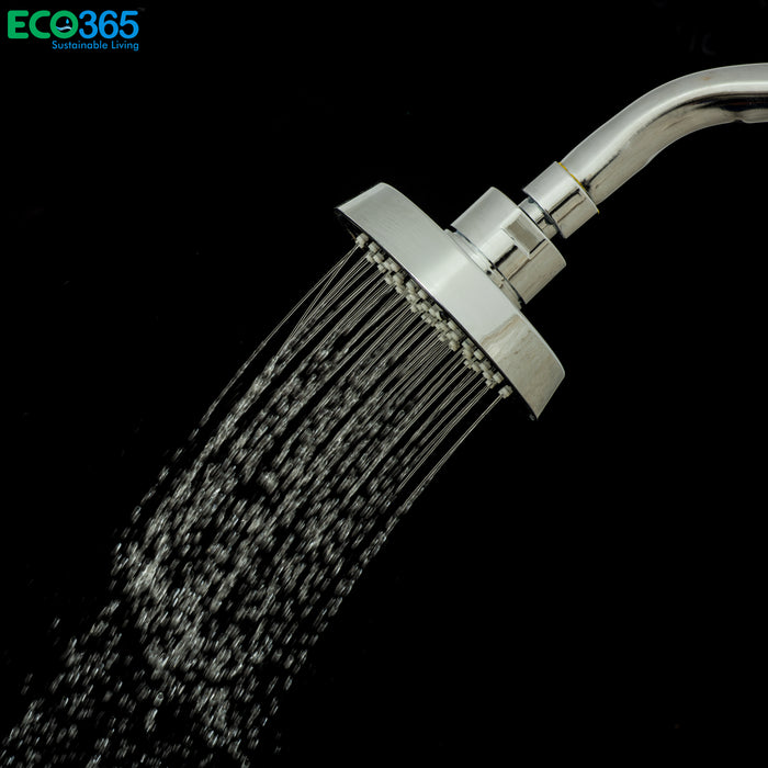 AirOxy - Water saving shower head (Black) Pack of 3 - Eco365