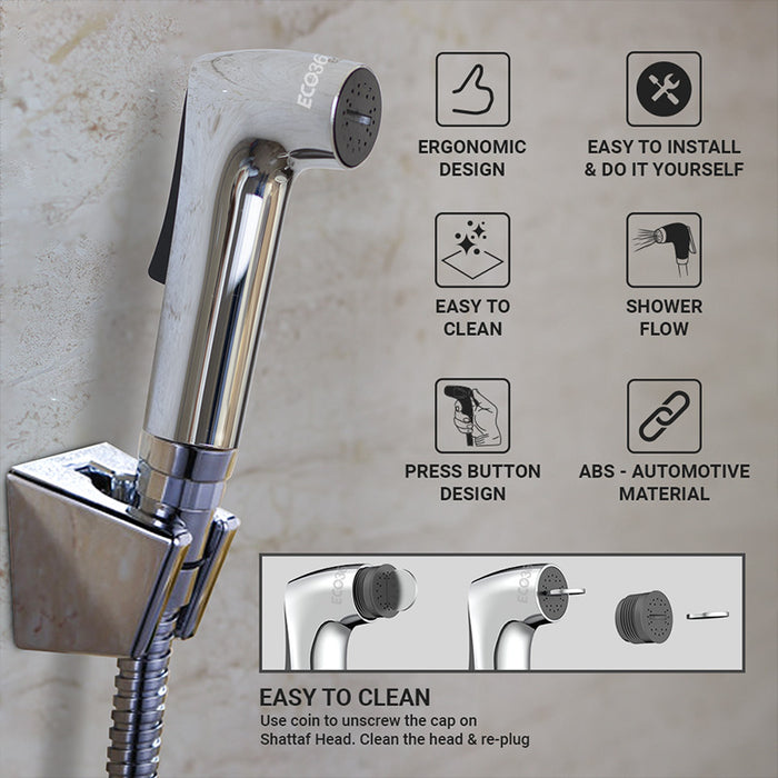 Water Saving Shattaf- Shower Flow - Eco365