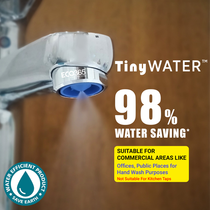 TinyWater Savers: 98% Less Water (Pack of 2) - Eco365