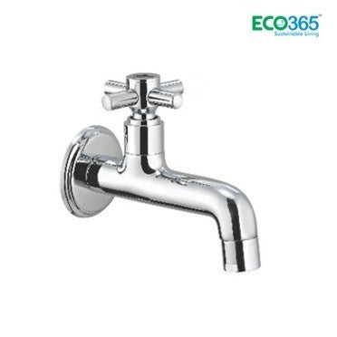 Water Saving Wall Mount Bib Cock Tap (Long Body) - Eco365