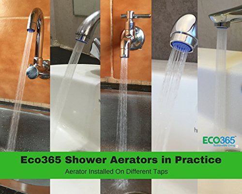 Custom Shower Flow Aerator - Eco365