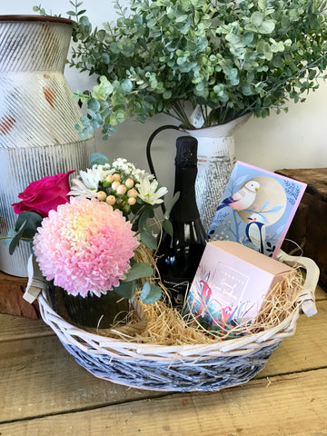 Love Birds Gift Basket