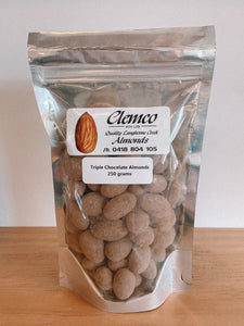 Triple Chocolate Almonds - Locally sourced from Langhorne Creek, SA