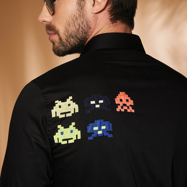 Space Invader Black