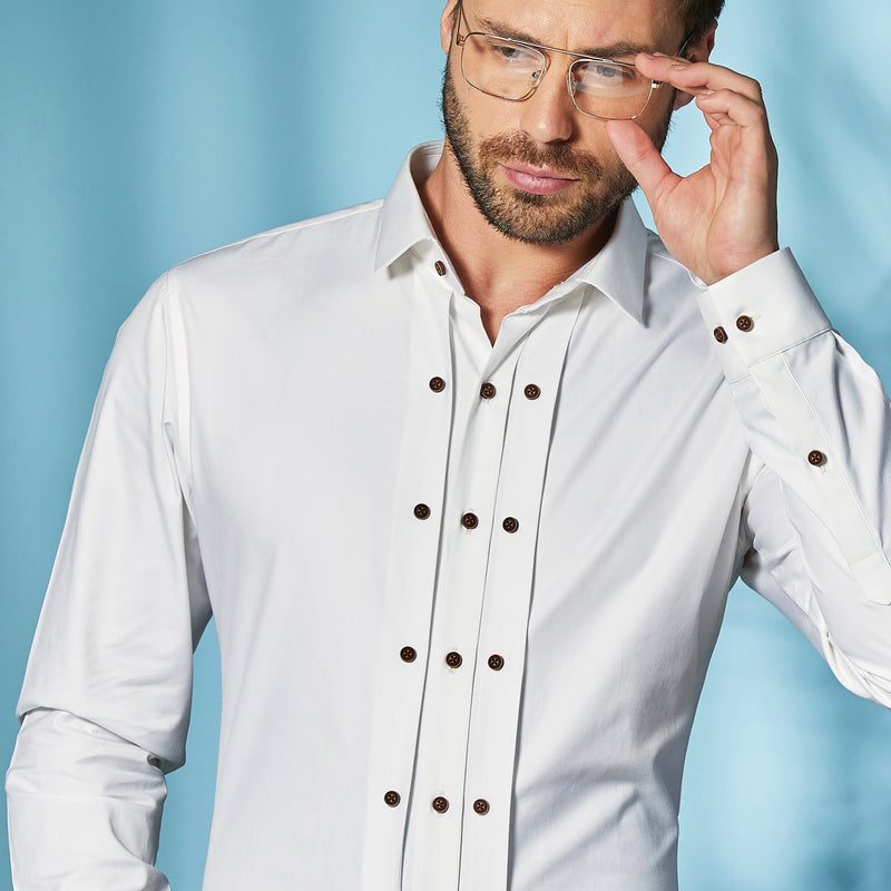 The Three Placket Shirt